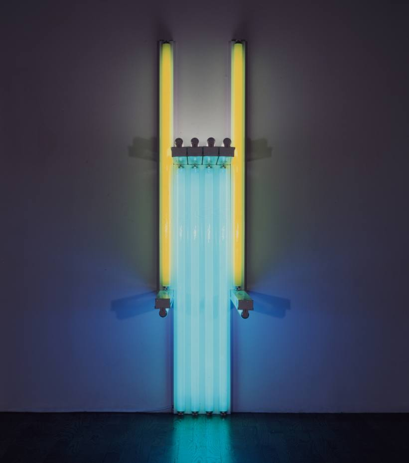 Dan Flavin's Untitled (to Lucie Rie, Master Potter) 1y
