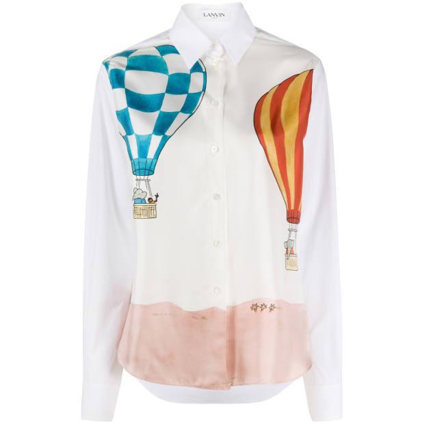 Lanvin shirt, £890, farfetch.com