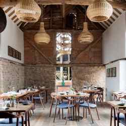The stylish interior of the new Pensons restaurant on the Netherwood Estate
