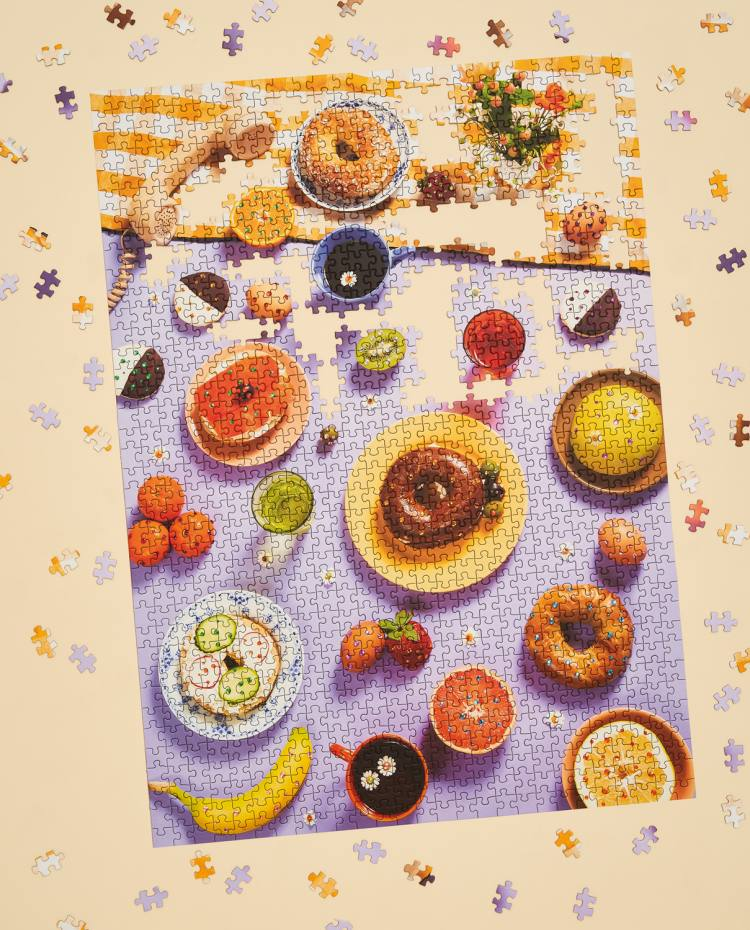 Rise & Shine 1,000-piece jigsaw puzzle by Piecework Puzzles, $36