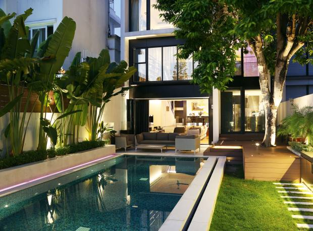 A six-bedroom house in Island South, Hong Kong, about £24.32m through Knight Frank