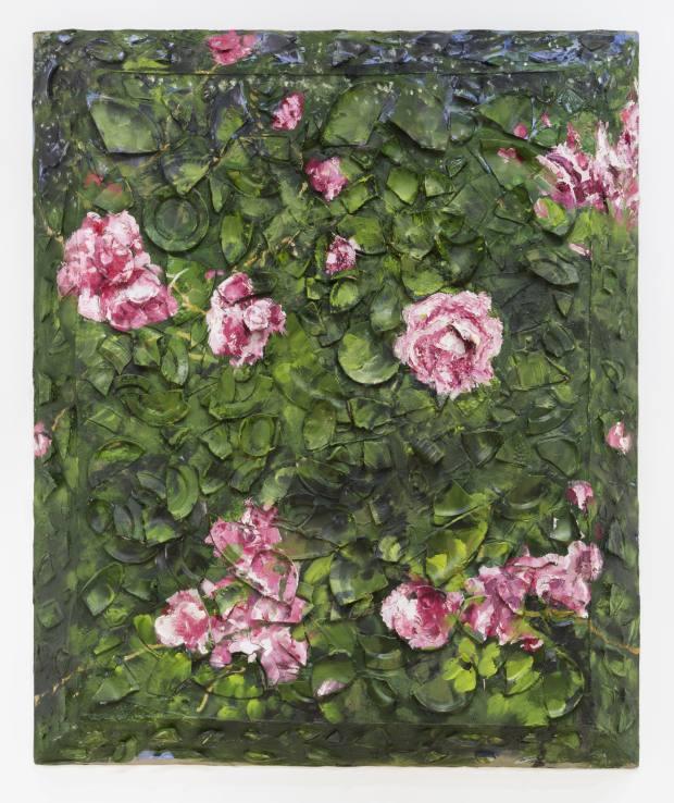 Rose Painting III by Julian Schnabel