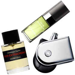 From left: Knize Ten, £60 for 50ml EDT. Chanel Pour Monsieur, £55 for 50ml EDT
