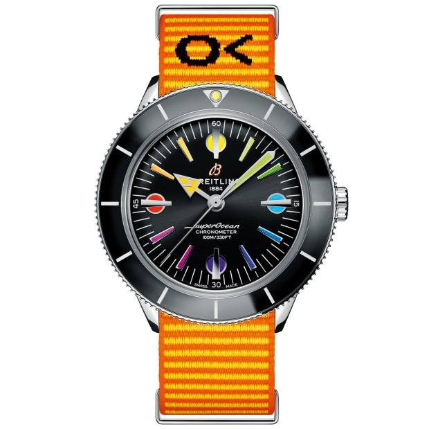 Breitling Rainbow Superocean, from £3,590