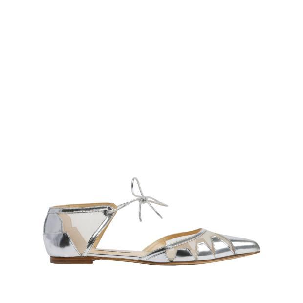 Bionda Castana calfskin and mesh Denni shoes, £495