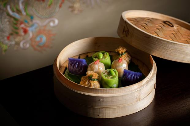 Supper also delivers dishes from Hakkasan such as vegan dim sum