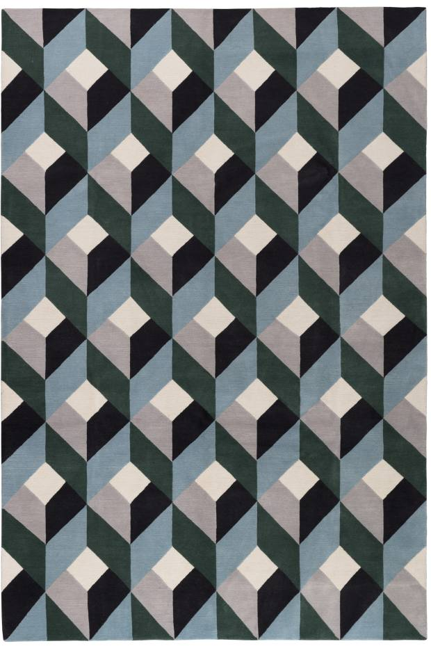 Suzanne Sharp handknotted Tibetan-wool Bonavita rug, from £725 per sq m