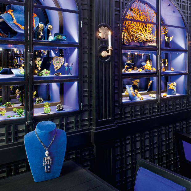 Lydia Courteille's boutique on Rue Saint-Honoré, Paris