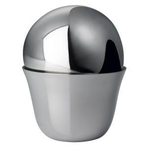 Georg Jensen sugar container by Aldo Bakker, in stainless steel, from Skandium, £60