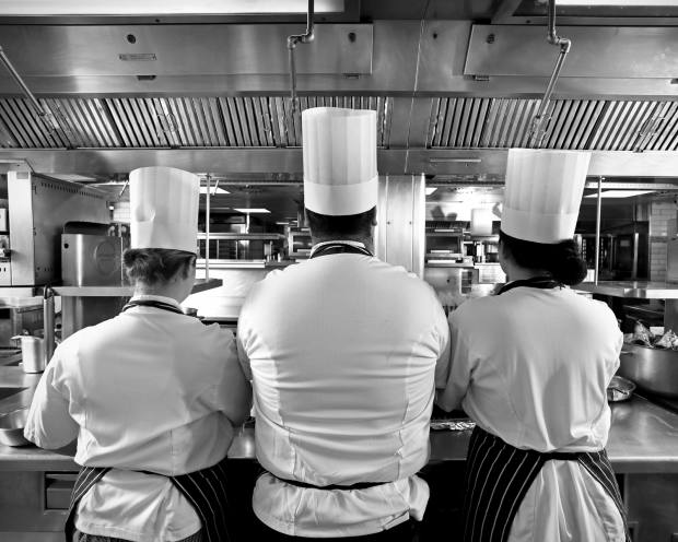 Diners only discover which chef is cooking their meal on the night through a random draw