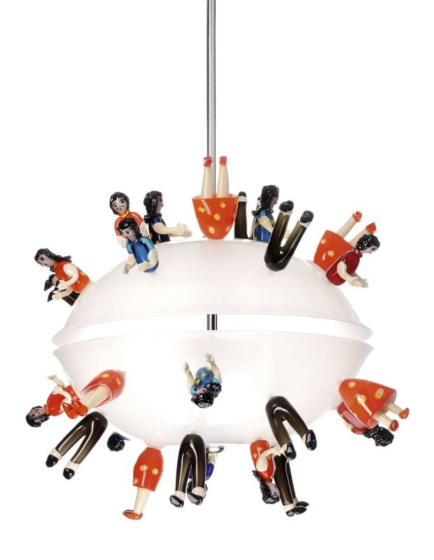 Campana Brothers' Esperança chandelier, from £29,500.