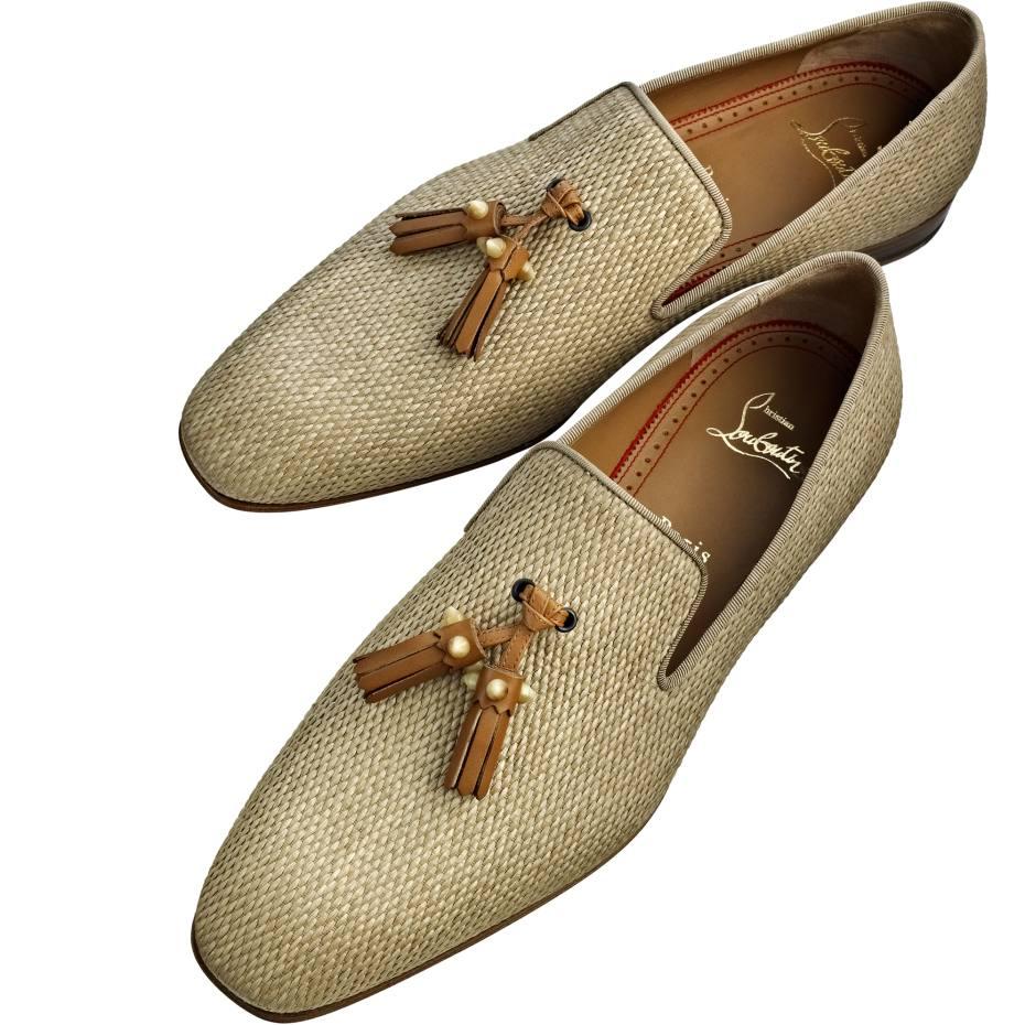 e818bf53710 Christian Louboutin Dandelion Tassel loafers