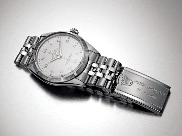 The Rolex Oyster Perpetual that Chichester wore on his epic voyage
