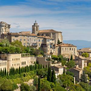The village of Gordes and its Bastide in Provence
