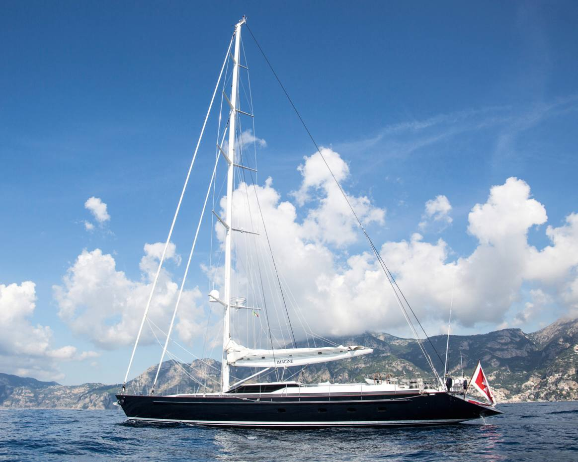 Antigua, Panama and the Galápagos Islands are among the 2019 ports of call for the newly launched yacht Imagine
