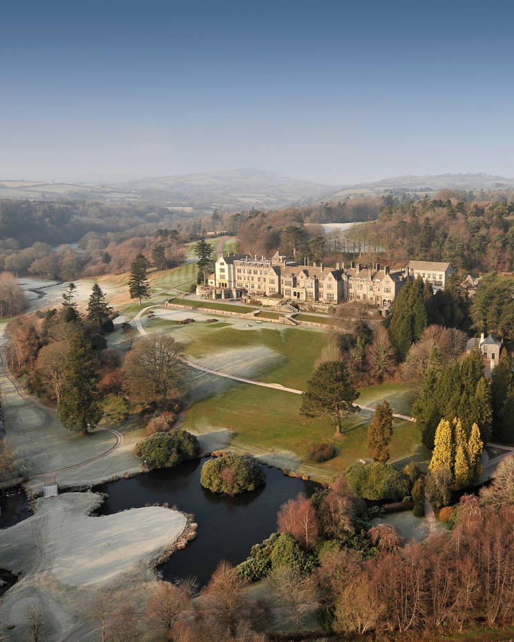 Guests will stay in four- and five-star country-house hotels, including Bovey Castle