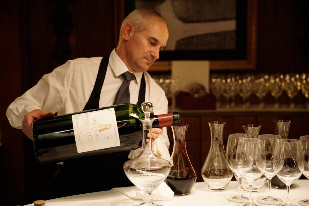 The Wine Room will offer an unmatched selection of Château Latour vintages by the bottle and glass