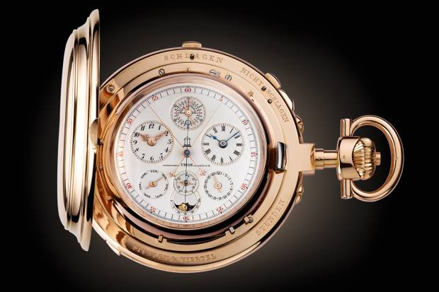 The Universelle, originally produced in 1899, contains more than 20 complications and 1,168 components in its movement