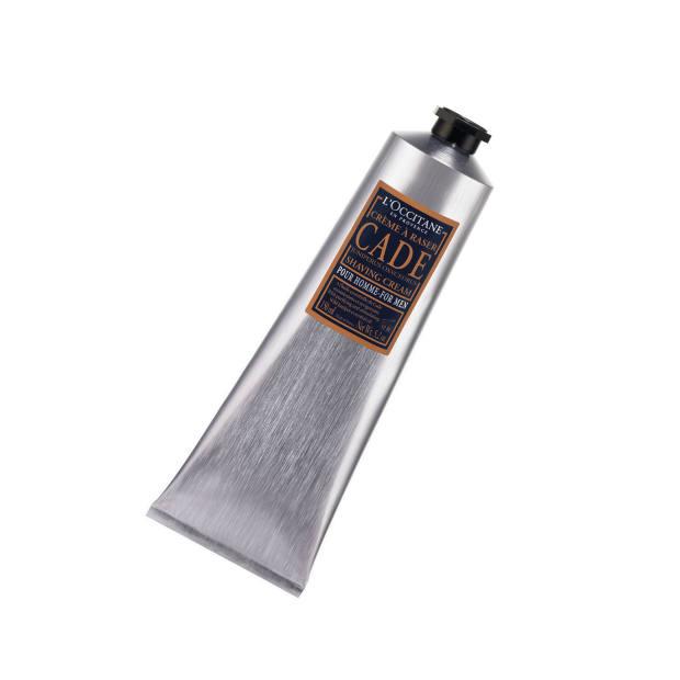 L'Occitane Cade shaving cream, £15.