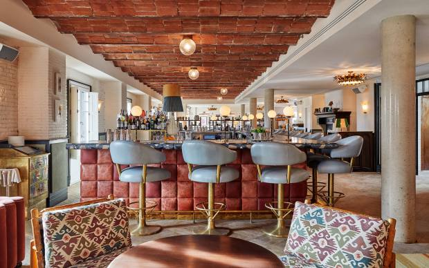 The club space in Soho House