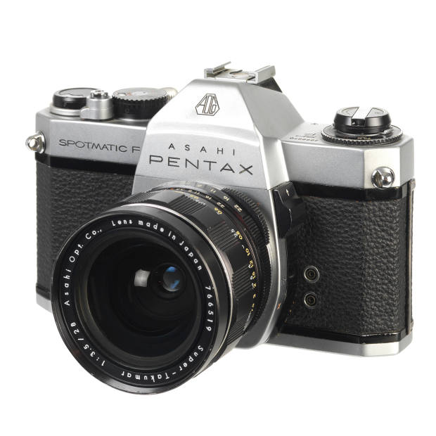The author's 1960s Pentax Spotmatic