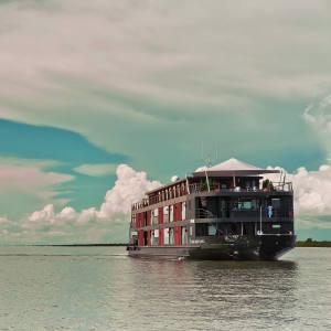 The 20-cabin river cruiser Aqua Mekong