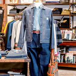 Clutch Cafe specialises in Japanese-made vintage-inspired workwear and opened a store in London earlier this year.