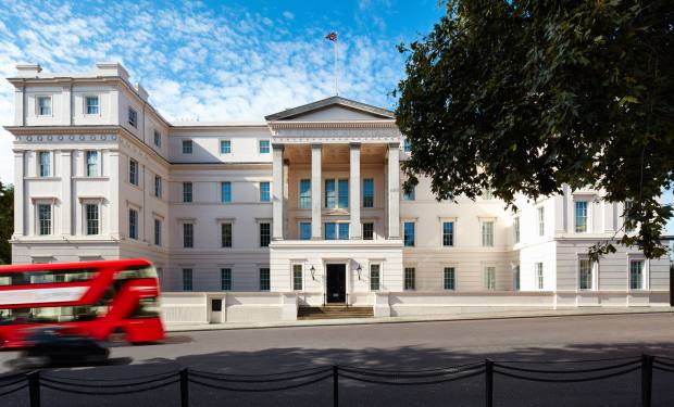 Bespoke Tata Harper treatments will be available at The Lanesborough hotel in Knightsbridge