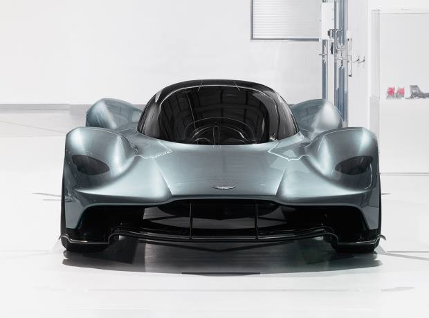 The front of the Aston Martin AM-RB 001, £2m-£3m