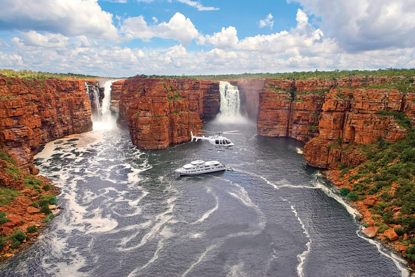 The True North exploring the rugged prehistoric region of the Kimberley in northwest Australia