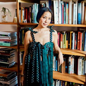 Anicka Yi in her New York apartment