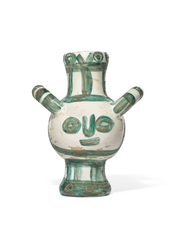 Vase Gros Oiseau Vert, estimated at £50,000-£70,000