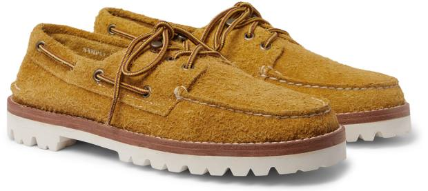 Sperry boat moccasins, £245, from mrporter.com