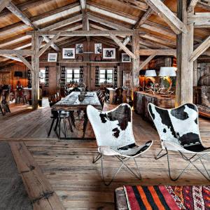 La Ferme de Bacré, the new mountain restaurant from chic Alpine hotel Les Fermes de Marie