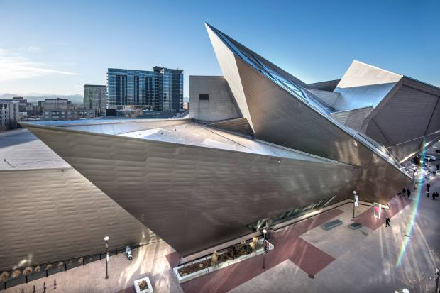 Libeskind's 2006 extension to Denver Art Museum