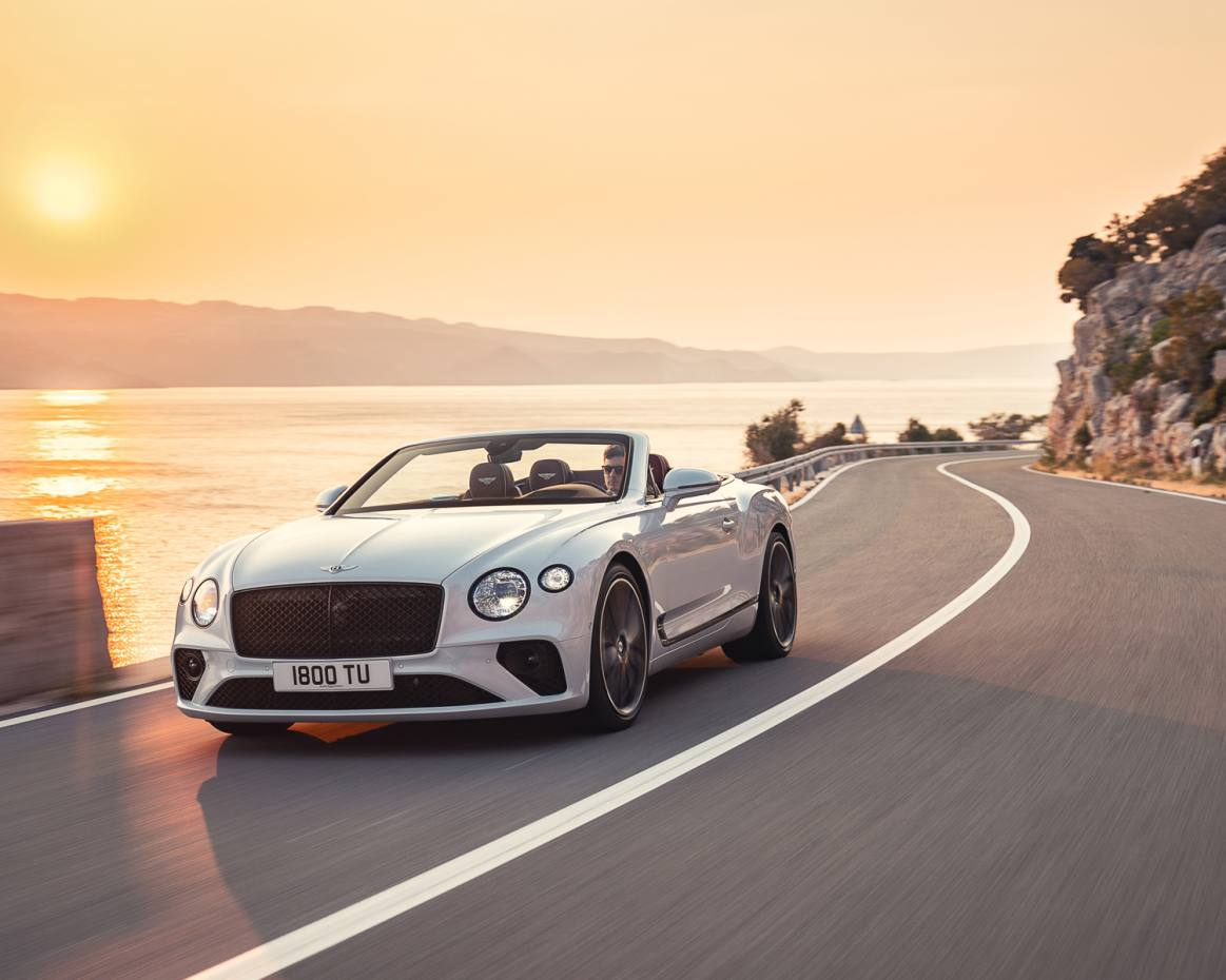 The Bentley Continental GTC is on sale now at a base price of £175,890