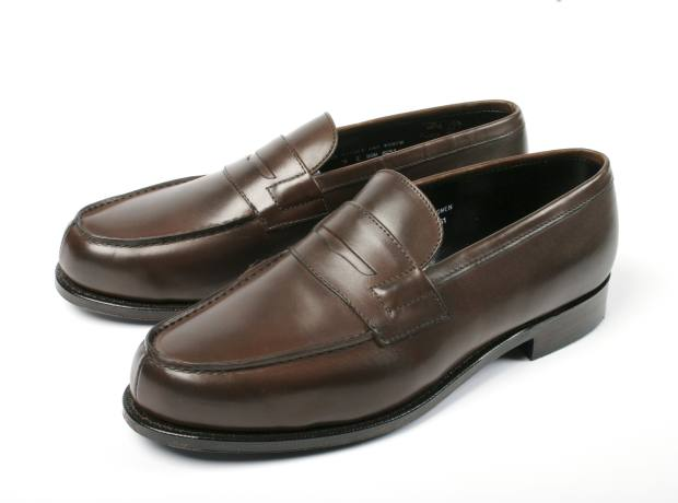 Whisky & Women loafers, £275, by Tim Little.