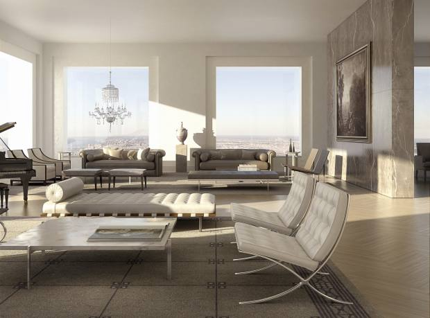 A sitting room at 432