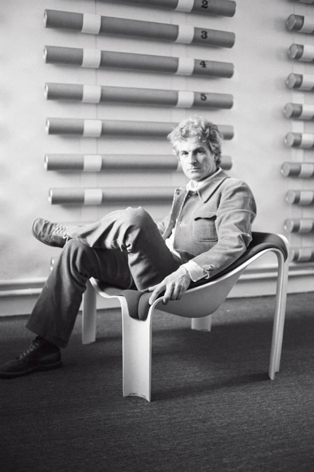 Designer Pierre Paulin