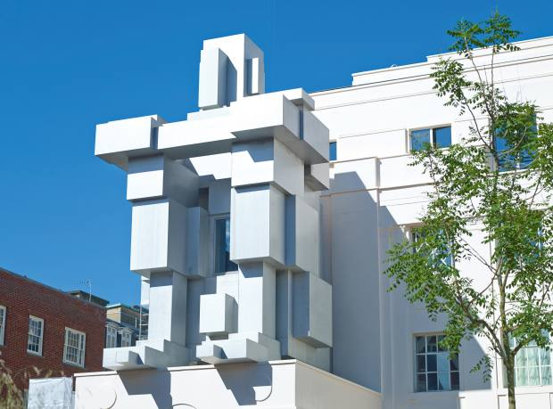Room by Antony Gormley at Grosvenor's Beaumont hotel, Brown Hart Gardens, London