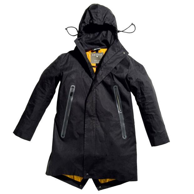 Griffin linen raincoat, £590