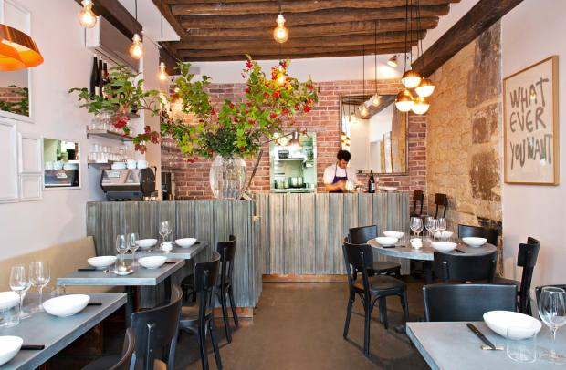 Frenchie serves French food with a highly creative twist