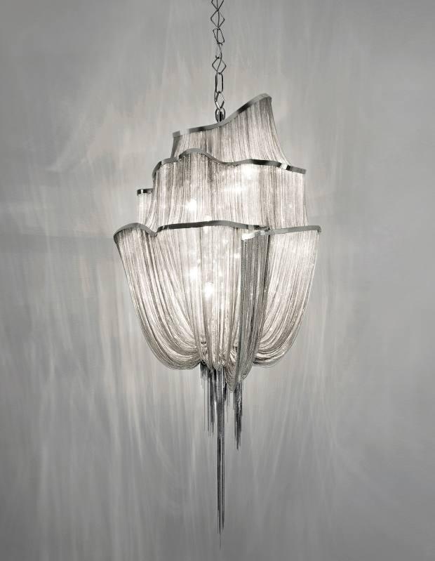 Terzani nickel Atlantis chandelier, £24,240