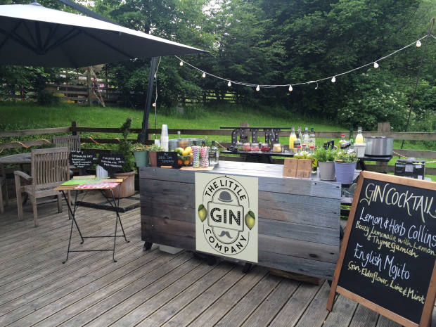 The Little Company Bar at an outdoor private event