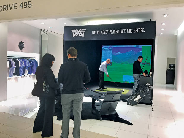 Saks' golf swing analysers from Drive 495 help clients to buy the most appropriate clubs