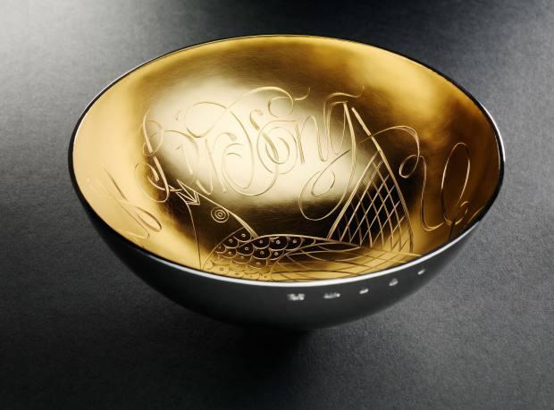 Bird Song bowl by Graham Stewart, £5,000.