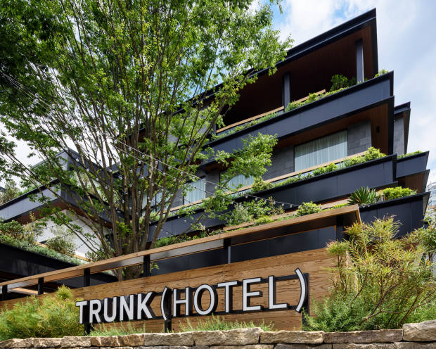 Trunk provides an alternative to Tokyo's skyscraper hotels