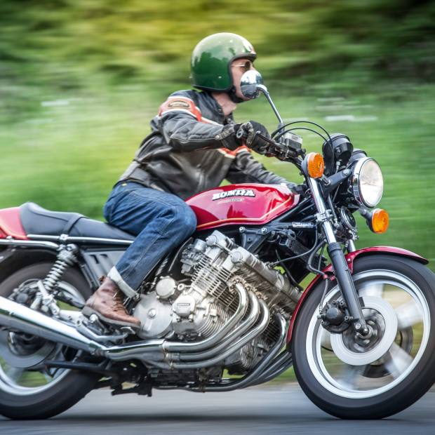 A Honda CBX1000 – an original 1978 model, worth about £25,000, is predicted tosoon reach £100,000
