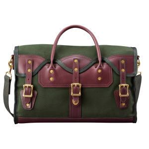 JW Hulme Co leather Rolling duffel bag, £1,840