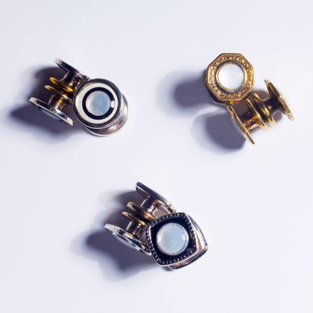 Carolyn Lamb vintage cufflinks, $295